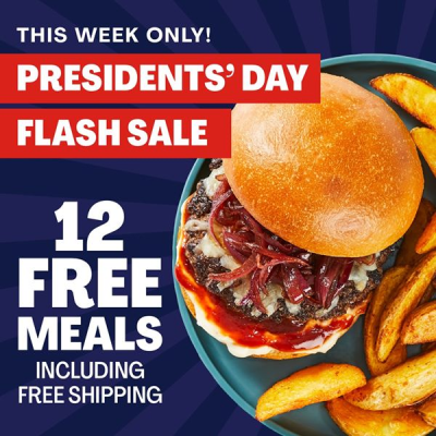 Hello Fresh President's Day Flash Sale: Save Up To $90 On Your First FOUR Boxes!