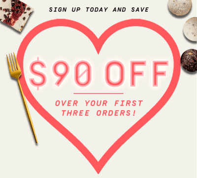 Factor Valentine's Day Deal: $90 Off Your First 3 Weeks!