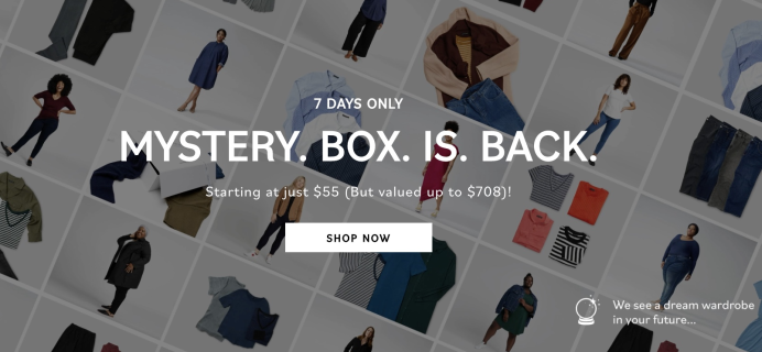 Universal Standard Mystery Boxes + Coupon – LAST CHANCE!