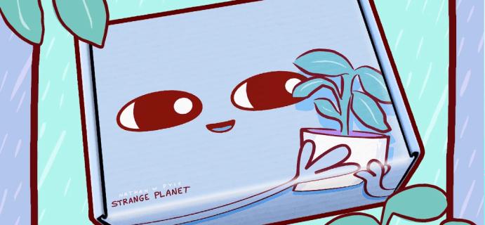Nathan W Pyle Strange Planet Box Spring 2021 Full Spoilers!