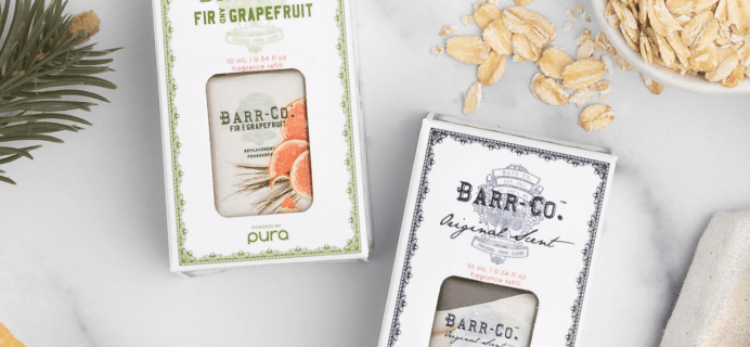Pura Barr Co Available Now + Coupon!