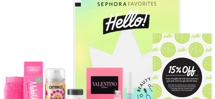 Sephora Favorites Hello! Beauty Big Shots Full Spoilers – Available Now!