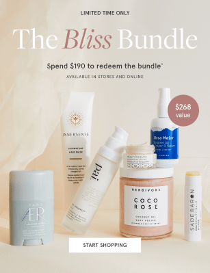 The Detox Market Gift With Purchase: Get The Bliss Bundle for FREE With $190+ Purchase!