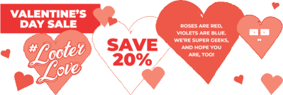 Loot Crate Valentine's Day Sale: Get 20% Off On Most Crates!