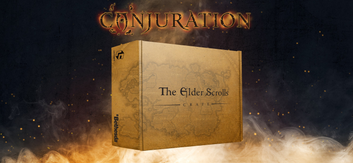 Loot Crate's The Elder Scrolls Crate May 2021 Theme Spoilers & Coupon!