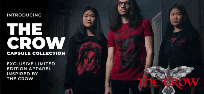 Loot Crate Limited Edition The Crow Capsule Collection Available Now!