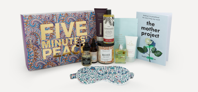 2021 Liberty London Five Minutes' Peace Beauty Kit Available Now + Full Spoilers!