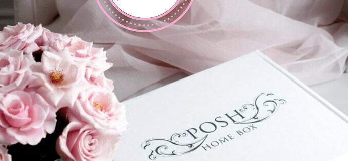 Posh Home Box Luxe Edition January-February 2021 Theme Spoilers!