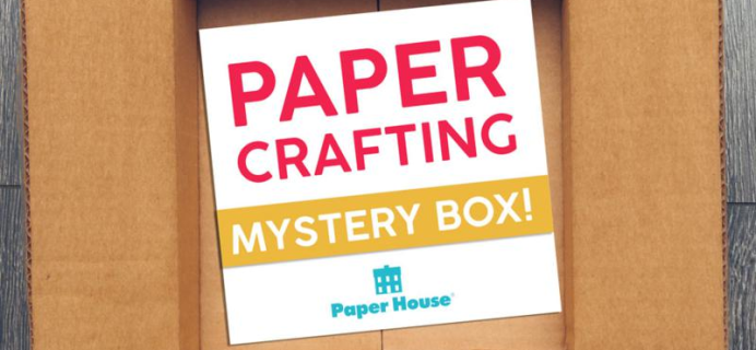 HSN Paper House Papercrafting Mystery Box Available Now + Spoilers!