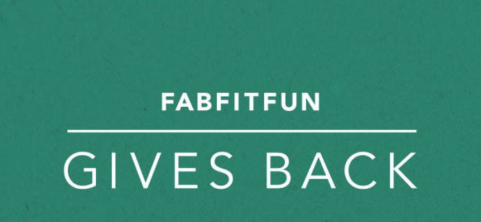 FabFitFun Coupon: Get 20% Off First Box + $10 Donation To One Tree Planted!