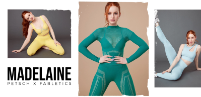 New Fabletics x Madelaine Petsch Collection Available Now + New Member Coupon!