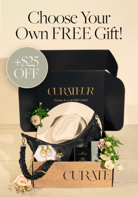 CURATEUR Deal: Get $25 off First Box + FREE Gift!