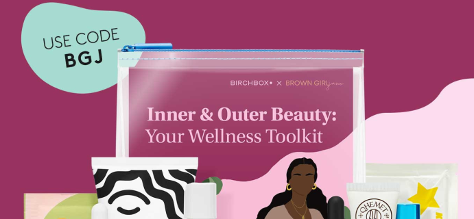 Birchbox Coupon: FREE Birchbox x Brown Girl Jane Kit With Annual Subscriptions!