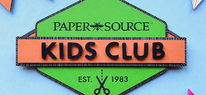 Paper Source Kids Club April 2021 Theme Spoilers!