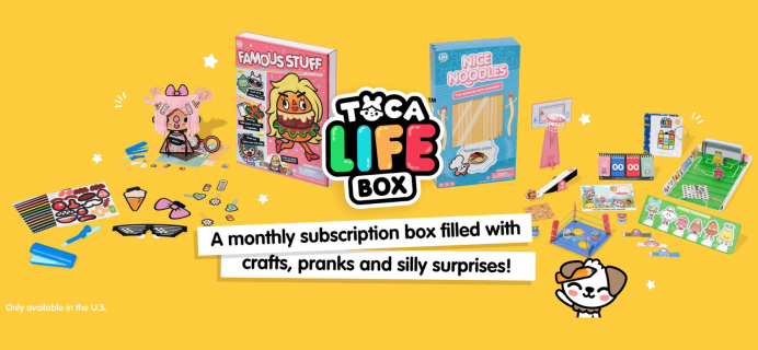 Toca Life Box Finger Sports Box Spoilers + Coupon!