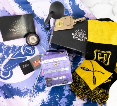 JK Rowling's Wizarding World Crate January 2021 DEPARTMENT OF MAGICAL TRANSPORTATION Review + Coupon