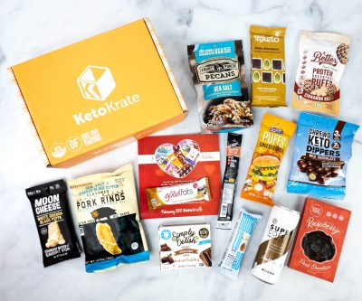 KetoKrate February 2021 Subscription Box Review + Coupon