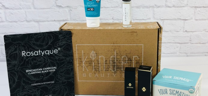 Kinder Beauty Box February 2021 Review + Coupon – Me-Time