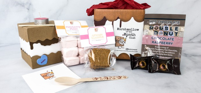 Marshmallow of the Month Club by Edible Opus February 2021 Subscription Box Review