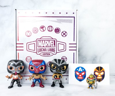 Marvel Collector Corps Review – MARVEL LUCHA LIBRE EDITION! – January 2021