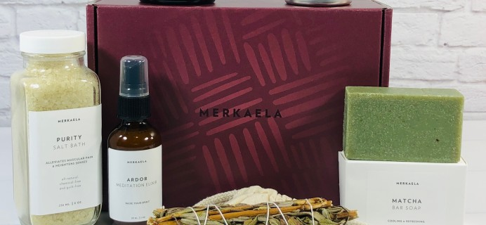 Merkaela Winter 2020 PEACE Box Review + Coupon