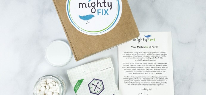 Mighty Fix Review + First Month $3 Coupon – January 2021
