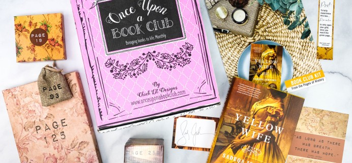 Once Upon a Book Club Review + Coupon –  January 2021 Adult Box