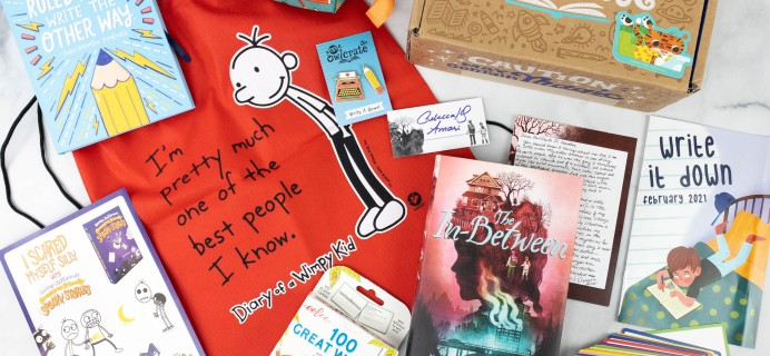 OwlCrate Jr. February 2021 Box Review & Coupon – WRITE IT DOWN!