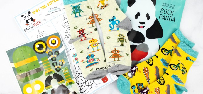 Panda Pals Kids Sock Subscription Review + Coupon –  February 2021