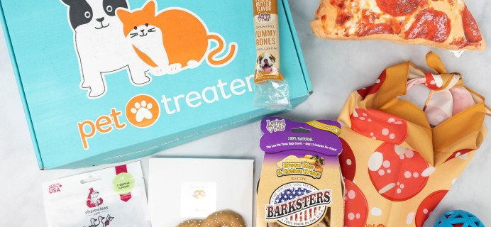 Pet Treater Deluxe Dog Pack Review + Coupon – February 2021
