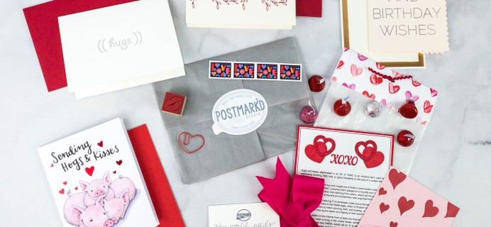 Postmark'd PostBox February 2021 Subscription Review + Coupon