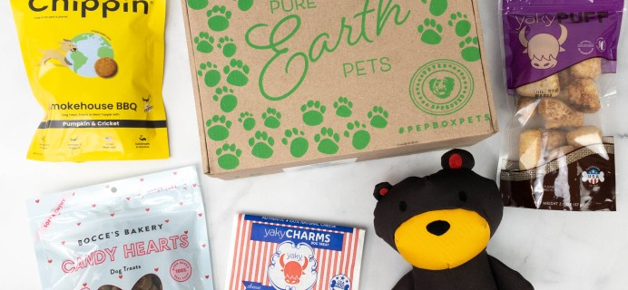 Pure Earth Pets Subscription Box Review + Coupon – February 2021