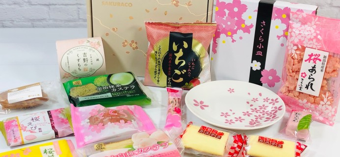 Sakuraco March 2021 Subscription Box Review + Coupon