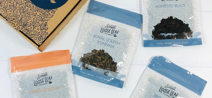 Simple Loose Leaf Tea Review + Coupon – February 2021