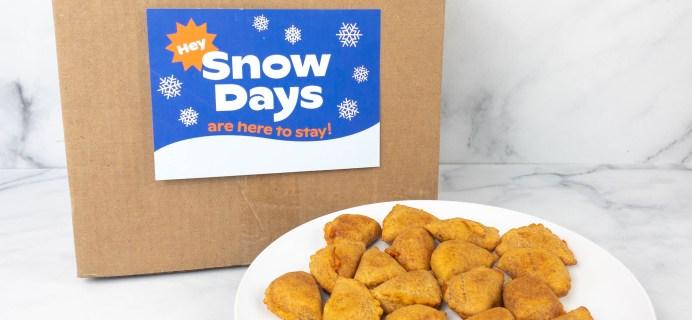 Snow Days Pizza Bites Subscription Box Review + Coupon!