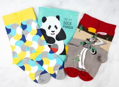 Sock Panda Tweens February 2021 Subscription Review + Coupon
