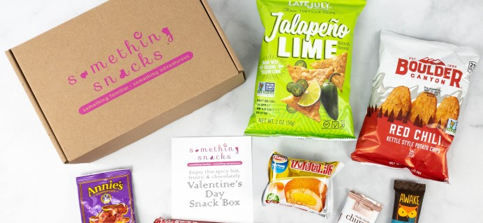 Something Snacks February 2021 Subscription Box Review + Coupon