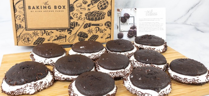 The Baking Box by King Arthur Flour Review – Hot Cocoa Mini Whoopie Pie Baking Box!