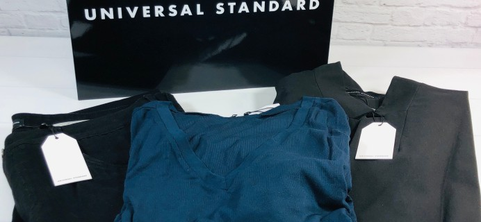 Universal Standard Mystery Box Review + Coupon – Classic Style Box!