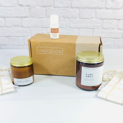 Vellabox Candle Subscription Box Review + Coupon – February 2021
