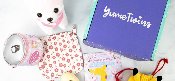 YumeTwins March 2021 Subscription Box Review + Coupon