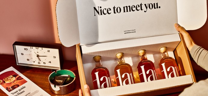 Haus Sampler Kit Is Here:  At-Home Cocktail Tasting Experience For Dad This Father's Day!