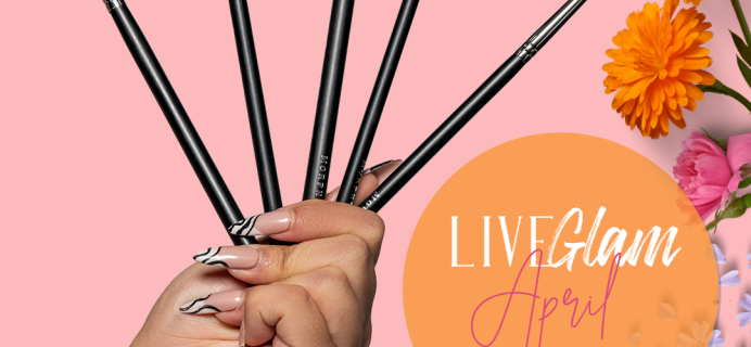 LiveGlam Brush Club April 2021 Full Spoilers + Coupon!