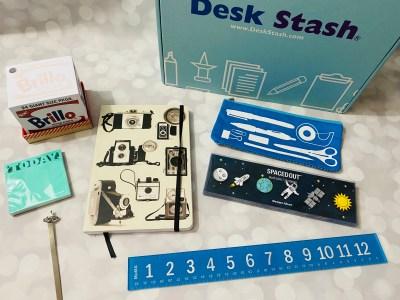 Desk Stash Winter 2021 Subscription Box Review + Coupon