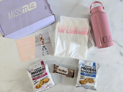 Miss MuscleBox Subscription Box Review + Coupon – February 2021