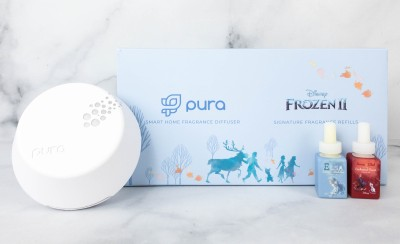 Pura x Disney Frozen 2 Fragrance Review + Coupon