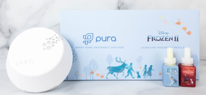 Pura x Disney Frozen 2 Fragrance Review + Coupon