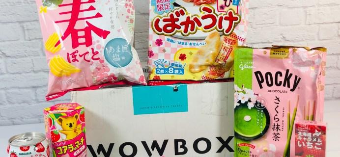 WOWBOX Omiyage Box April 2021 Subscription Box Review!