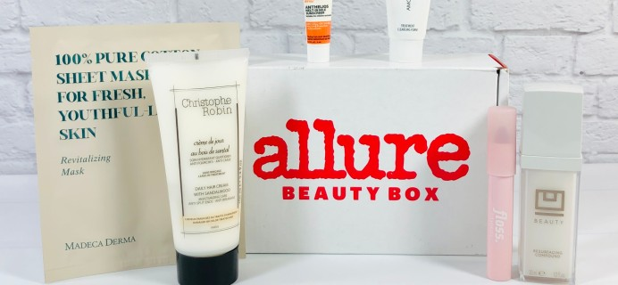 Allure Beauty Box February 2021 Review & Coupon