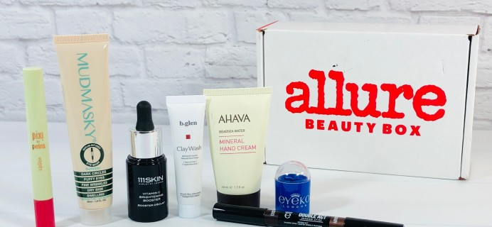 Allure Beauty Box March 2021 Review & Coupon